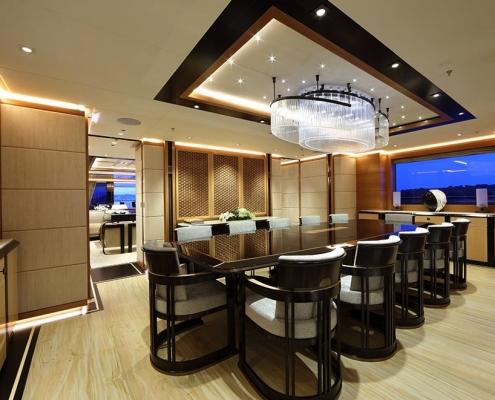 Super Yacht Interior Masterpieces